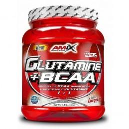 GLUTAMINE + BCAA 530 G LEMON-LIME AMIX